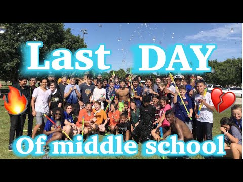 LAST DAY AT STALEY MIDDLE SCHOOL ??????????