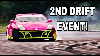 My 2ND DRIFT EVENT in the Barbie 350Z!!