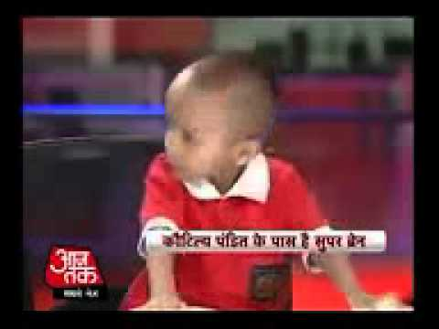 Meet India's super kid Kautilya Pandit.3gp Travel Video