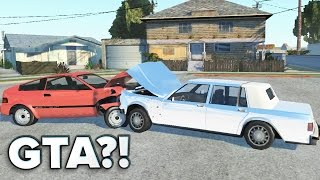 GTA com BATIDAS REALISTAS?! - BeamNG Drive