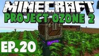 Minecraft Project Ozone 2 Kappa Mode! #20 [Modded HQM Skyblock]