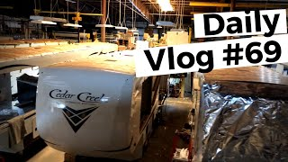 Touring The Cedar Creek Factory....2 Years Later   RVLife Daily Vlog #69