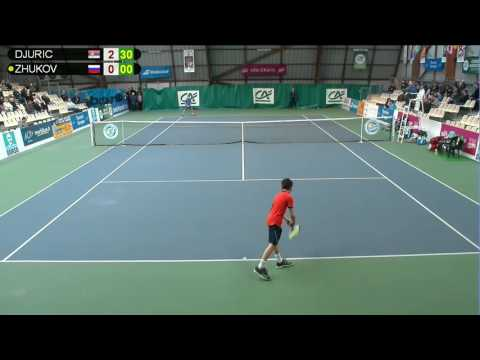 DJURIC (SRB) vs ZHUKOV (RUS) - Open Super 12 Auray Tennis - Court 4