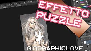effetto puzzle #TUTORIAL PHOTOSHOP CS6 #