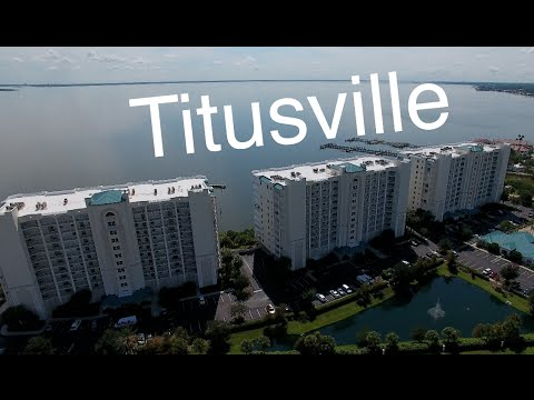 Titusville drone flight