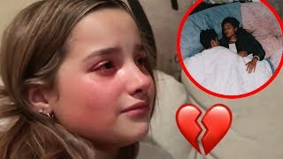 "Annie LeBlanc REACTS To Asher Angel ""CHEATING"" On Her (ASHER EXPOSED) **ashannie is over?**"