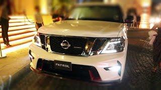 شاهد: نيسان تكشف في دبي عن أول سيارة باترول نيسمو في العالم