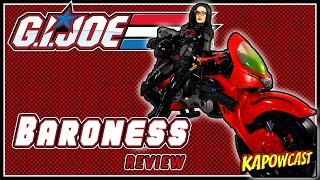 G.I. JOE CLASSIFIED COBRA ISLAND BARONESS REVIEW | TARGET EXCLUSIVE