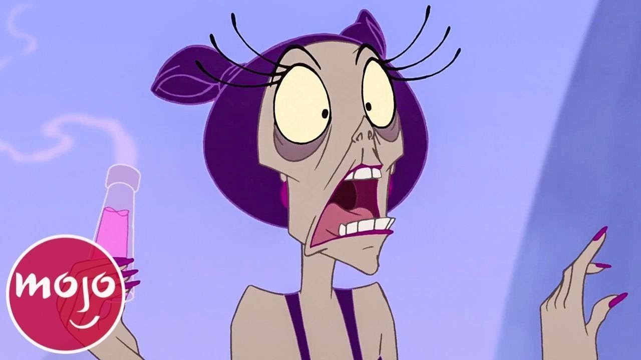 Top 10 Momentos De Yzma Youtube