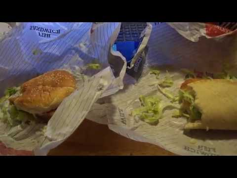 Arby 39 s fish sandwich vs arby 39 s fish flat bread youtube for Arby s fish sandwich 2017