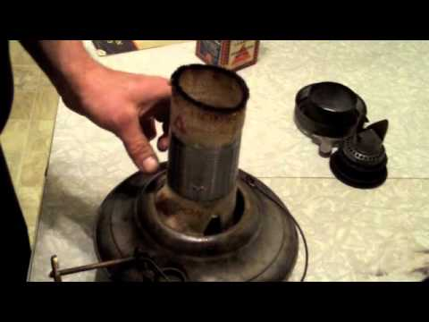 Perfection Kerosene Heater How To Replace The Wick Youtube