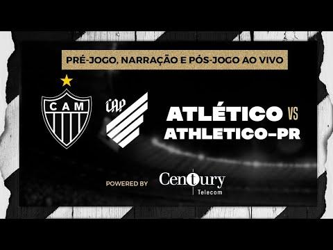 Atlético x Athletico-PR: pré-jogo, narração e pós-jogo.