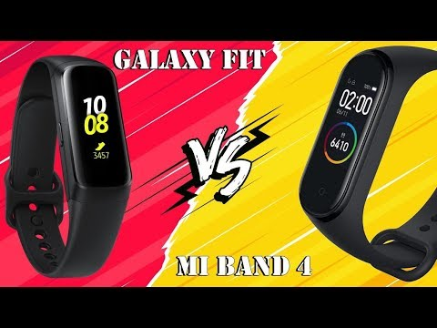 Что круче? Mi Band 4 Vs Samsung Galaxy Fit