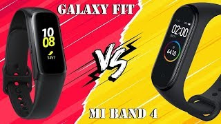 Что круче? Mi Band 4 vs Samsung Galaxy Fit