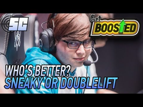 Who's Better: Sneaky or Doublelift? Worlds 2017   Get Boosted Highlight   LoL eSports