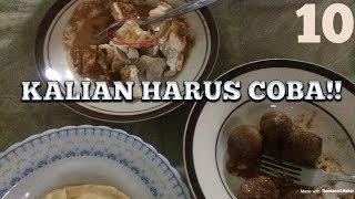 TOP 3 STREET FOOD PALING ENAK DI BANDUNG INDONESIA