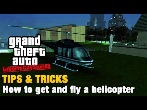 GTA Liberty City Stories - Tips & Tricks - How to get and fly a helicopter Travel Video