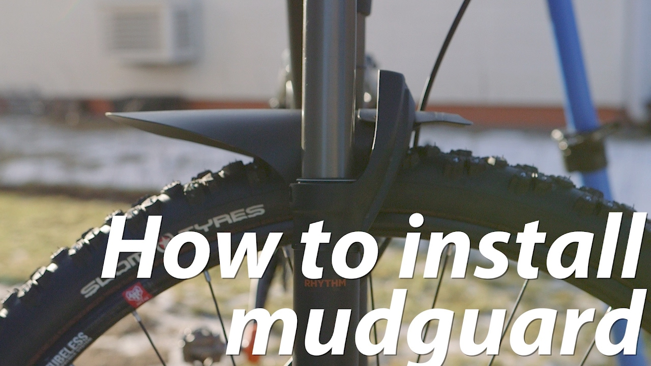 Spritzschutz SET Fender Mud Guard Schutzblech Marsh MTB Fahrrad Rock Shox E-Bike