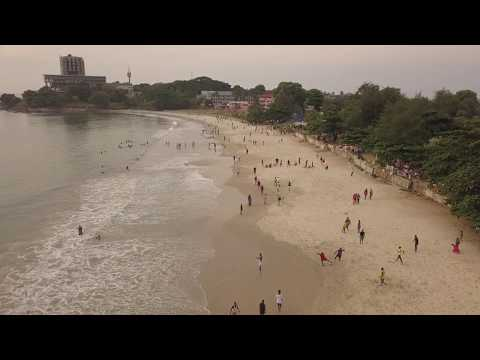 Aberdeen Beach, Freetown Sierra Leone,