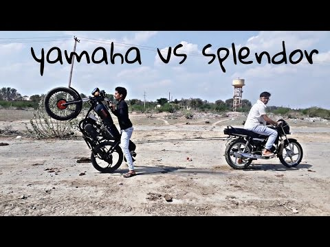 Splendor plus vs yamaha rx 100 must watch which one is best comment on below