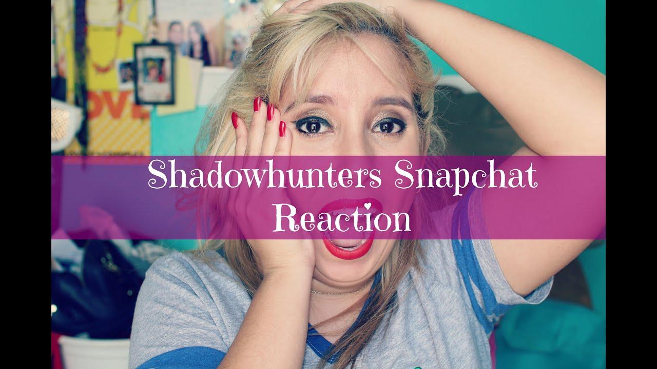 Shadowhunters snapchat