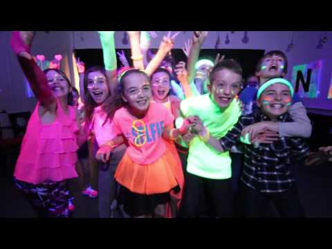 Hannah and Luke's Neon Party