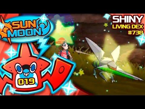 MY FAVORITE SHINY! SHINY VIKAVOLT / GRUBBIN REACTION! Quest For Shiny Living Dex #738   Shiny #19