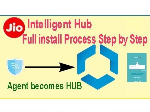 new Intelligent Hub install kaise kare !! JIO Intelligent Hub Full Process Step by Step