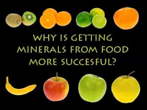 4. Minerals from Food vs. Minerals from Supplements
