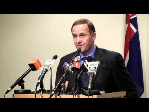 Prime Minister: Statement and press conference on the earthquake