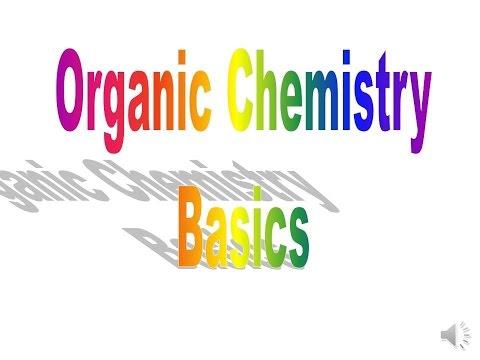 Elemental Chemistry – Easy Intro to Basic Organic Chemistry