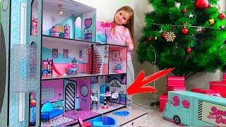 Cadoul de ZIUA Sarei LOL Dolls Surprise House | Desfacem Casuta LOL Surprise