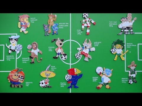 FIFA World Cup Symbols. Logos, Mascots, Posters, The Balls And Songs 1930 - 2018