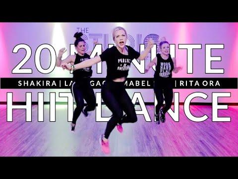 The Best 20 Minute Dance Cardio HIIT Workout EVA | The Studio by Jamie Kinkeade
