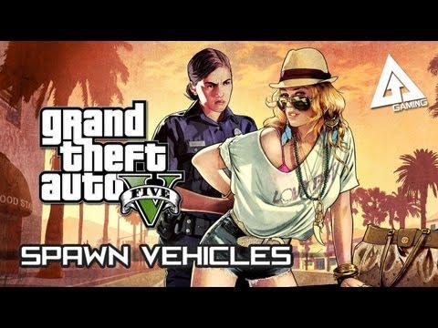GTA 5 Cheats Guide - Spawn Vehicles Cheat Codes (Grand Theft Auto V)