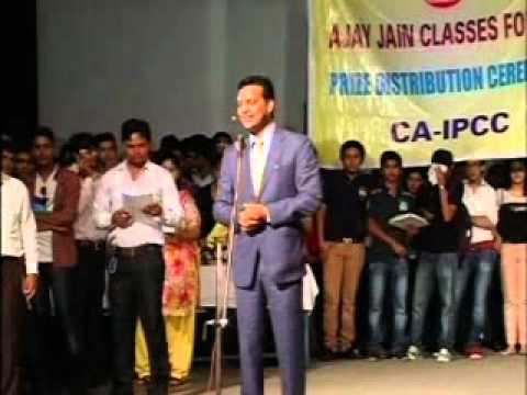 Ajay Jain Classes - Prize Distribution Function - May 2012