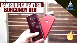 Samsung Galaxy S8 Burgundy Red Hands On