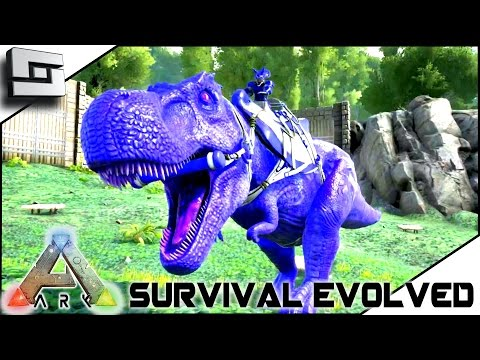 ARK: Survival Evolved - TAMING A 100+ TREX! BLUETOOTH! S2E27 ( Gameplay )