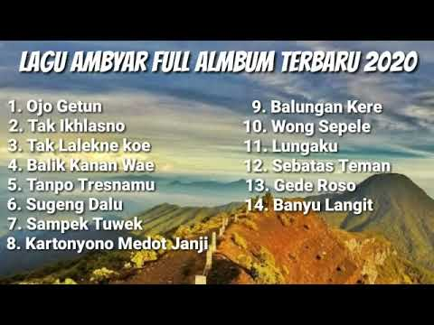 Ambyar Full Album 2020 Mp3 Youtube