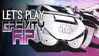 Luke Made a Game?! Ellen & Mike Go Sci-Fi Death Racing in Gravity RIP
