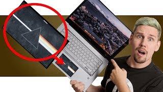 видео В новом Asus ZenBook Pro вместо тачпада используется второй экран