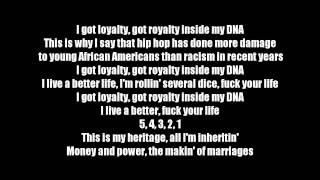 Kendrick Lamar - DNA. (Lyrics)(Audio)