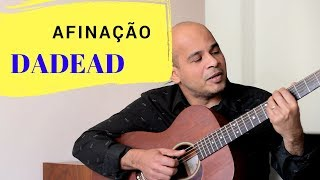 afinacao dadead  dica # 1 - tuning dadead ( subtitles in english )
