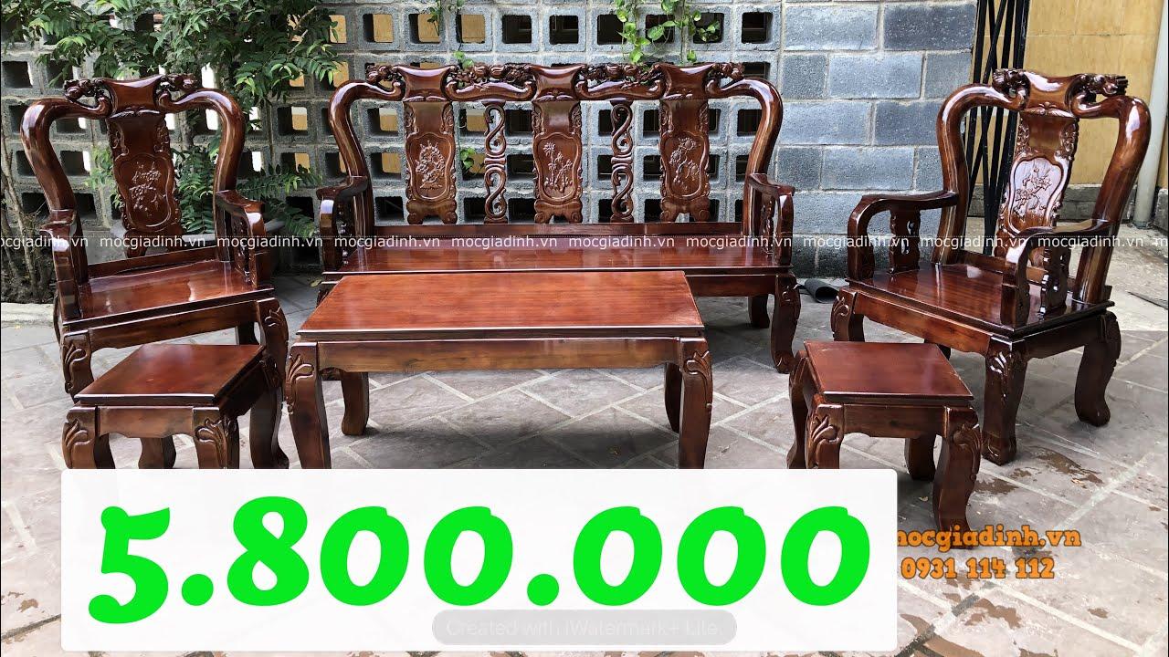 Bộ bàn ghế gỗ salon phòng khách giá rẻ đỉnh đào   Tóm tắt các tài liệu nói về salon phòng khách chuẩn nhất