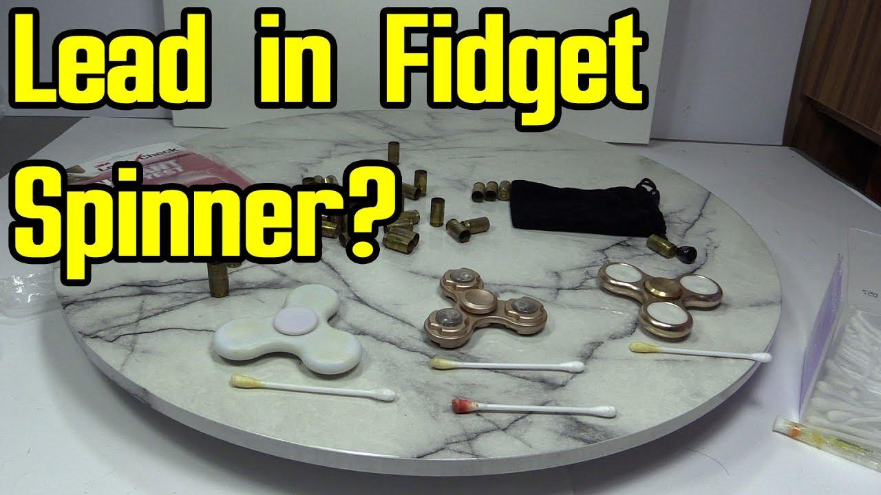 Researchers find dangerous amounts of lead in fidget spinners - Lead Testing On Led Fidget Spinners
