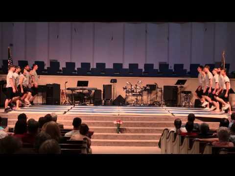 Patriotic Gymnastics Routine - Ozark Adventist Academy