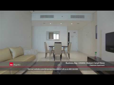 Business Bay - DAMAC Maison Canal Views: 1 Bedroom Apartment for Rent in Dubai