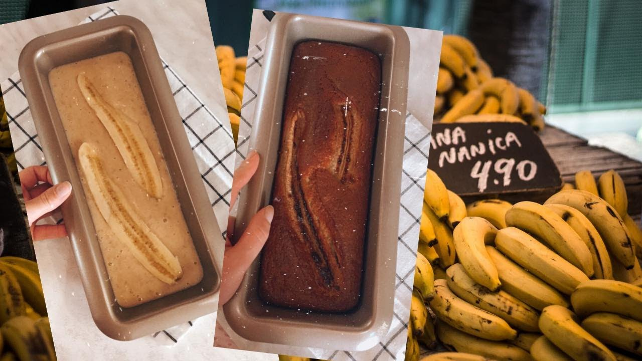 VLOG: ბანანის პური || Banana bread