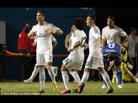 Cristiano Ronaldo Celebration Towards Jose Mourinho after ...