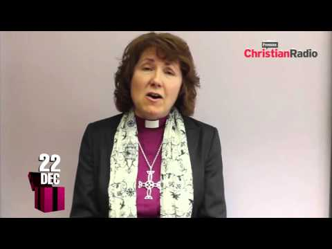 Advent Calendar // Dec 22 //  Bishop Anne Hollinghurst, Bishop of Aston